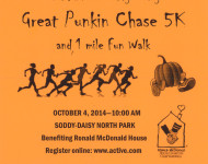 2nd Annual Spoddy-Daisy Great Punkin Chase 5k