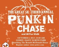 The Great 5k Third Annual Punkin Chase