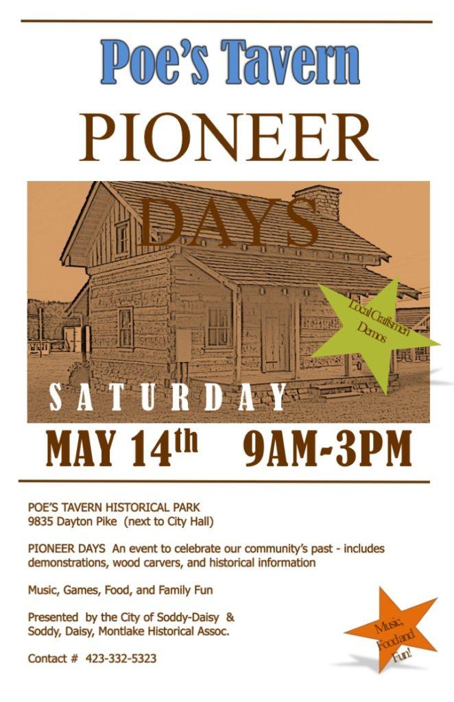 Pioneer Days Flyer 2016